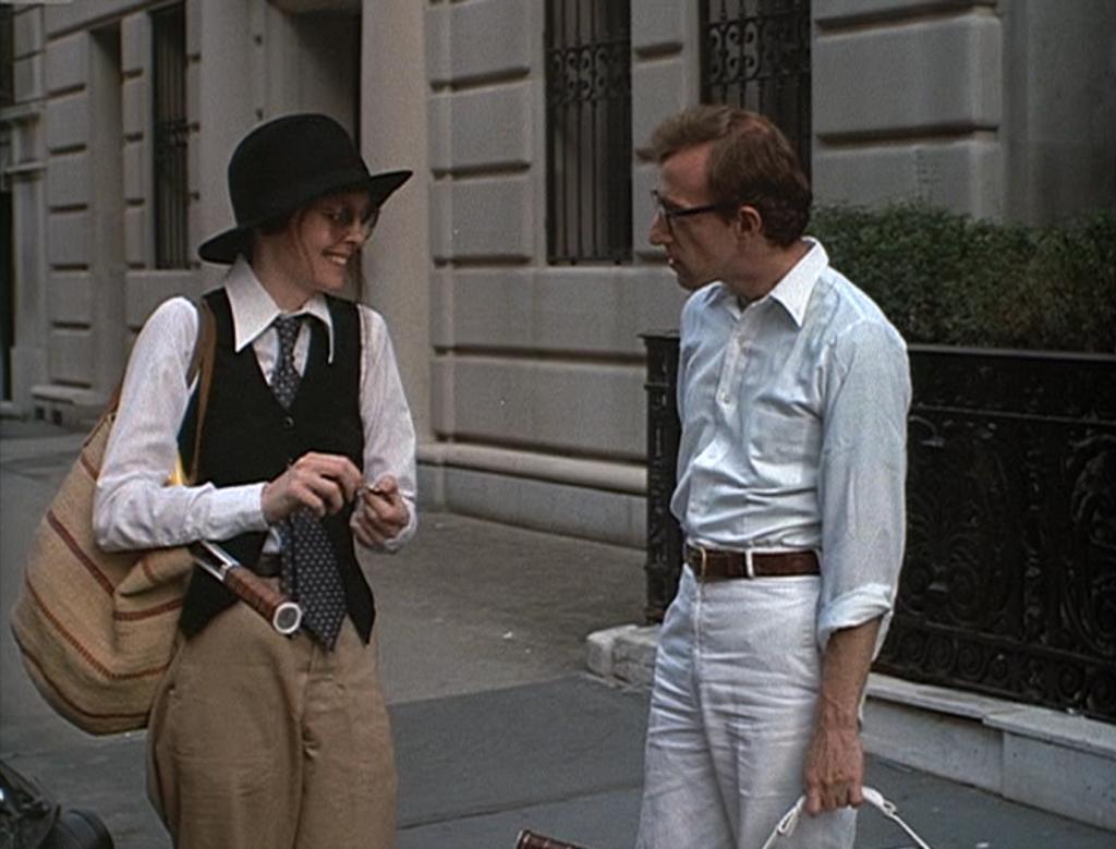 Keaton y Allen, en 'Annie Hall'