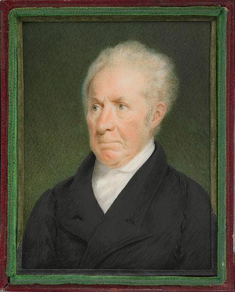 Sarah Goodridge: El pintor Gilbert Stuart, 1825. Metropolitan Museum of Art, Nueva York. Foto Google Art.