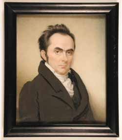 Sarah Goodridge: Daniel Webster, 1827.