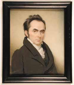 Sarah Goodridge: Daniel Webster, 1827.