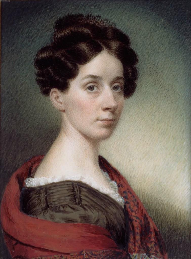 Sarah Goodridge: Autorretrato, 1830 (Foto: Wikipedia).