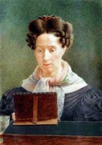 Sarah Goodridge: Autorretrato, 1845.