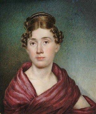 Sarah Goodridge: Autorretrato, 1825.