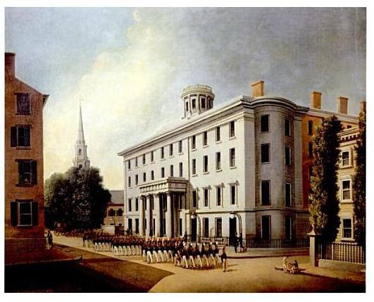 James Bennett: Tremont House en Boston, 1830
