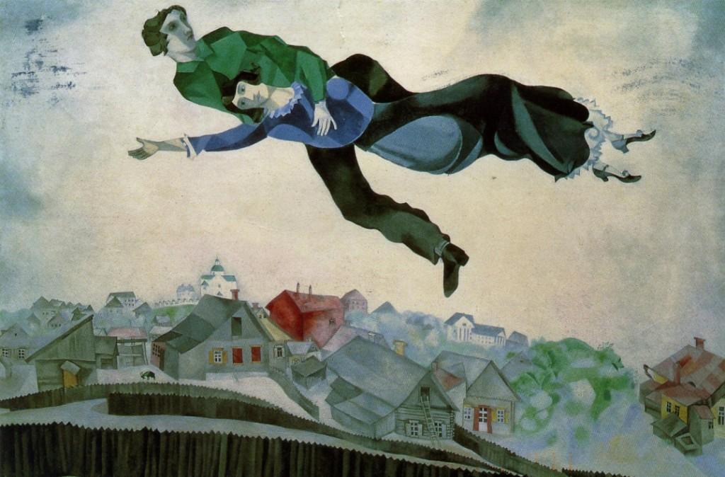 Pintura de Chagall