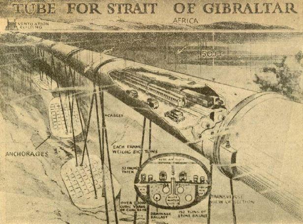Túnel FLOTANTE GIBRALTAR