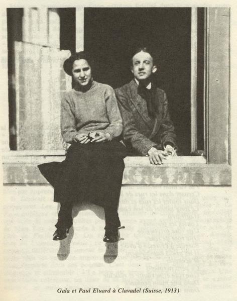 Gala y Paul Eluard
