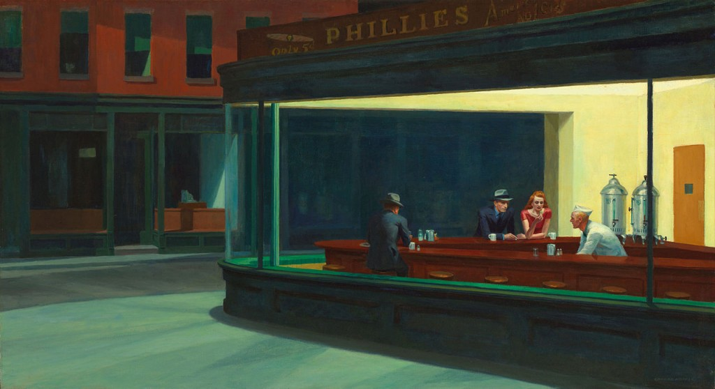 'Nighthawks', de Edward Hopper.