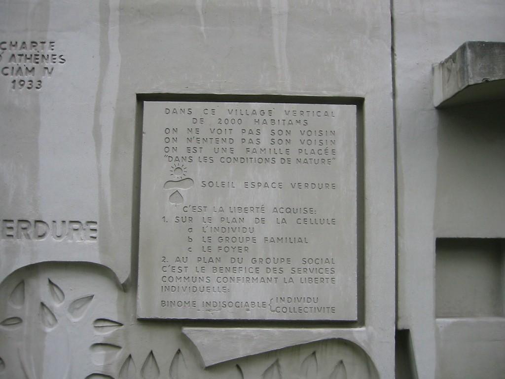 UNIDAD HABITACION BERLIN 1956