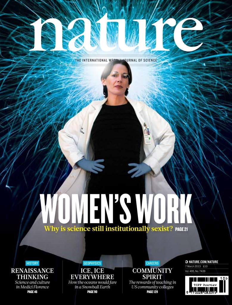 La-revista-Nature-habla-en-su-portada-de-la-desigualdad-de-la-mujer-en-la-ciencia