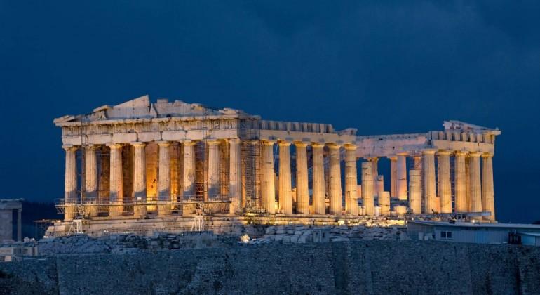 Cinco lecturas sobre Grecia