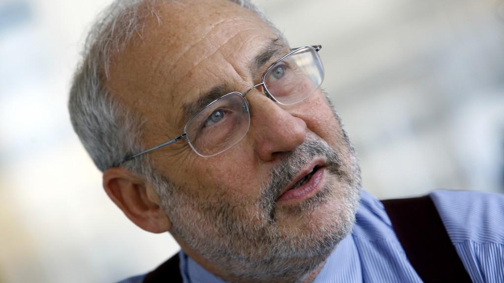 Economist and Nobel laureate Joseph Stiglitz Economist during interview with Reuters