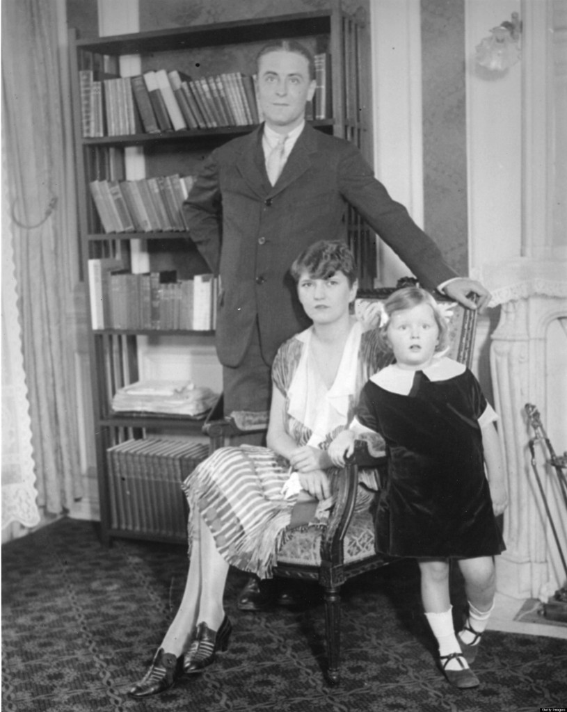 F. Scott Fitzgerald And Family