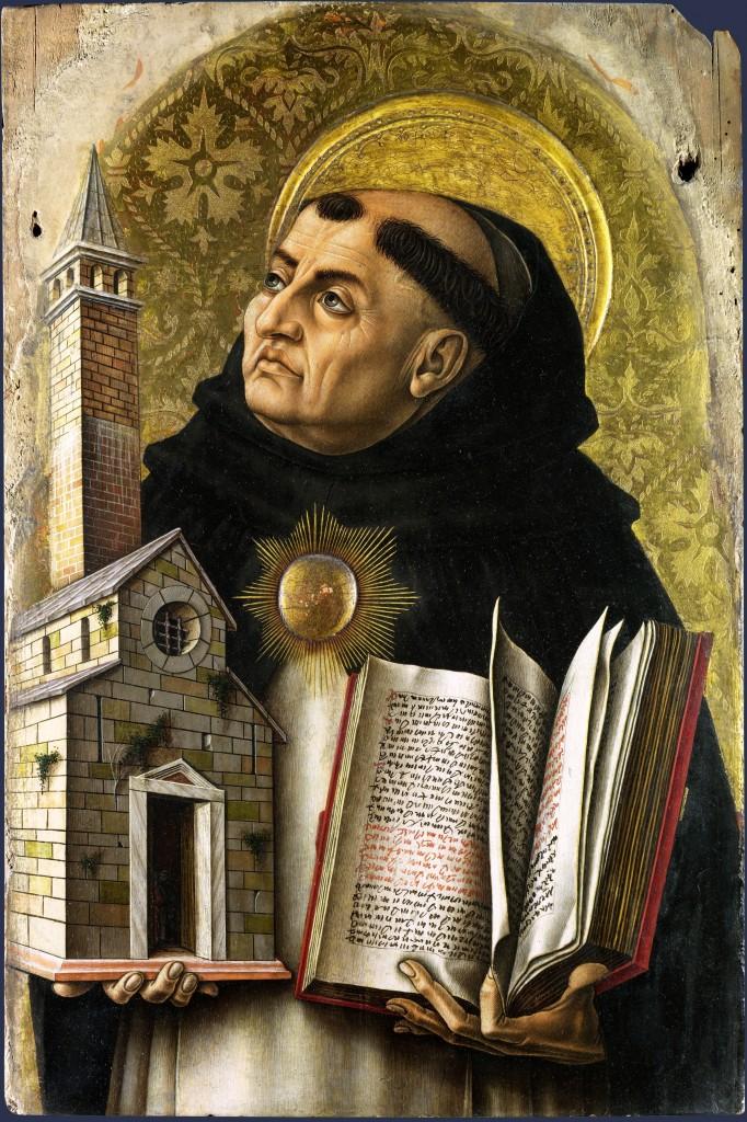 Santo Tomas de Aquino  de Carlo Crivelli
