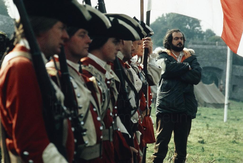 """Stanley Kubrick en el rodaje de """"Barry Lyndon"""""""