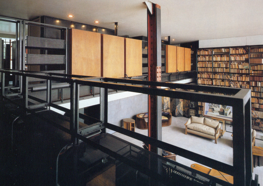 la maison de verre pierre chareau y bernard bijvoet 1928 hyperbole. Black Bedroom Furniture Sets. Home Design Ideas