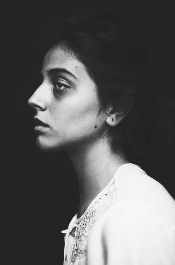 "Silvia Grav. Serie ""Self-portrait"""