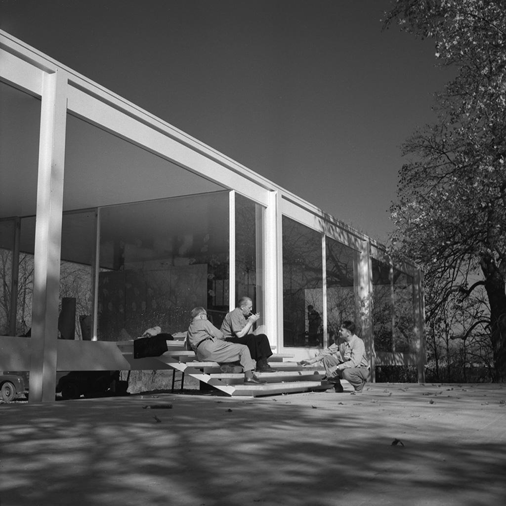 Mies Van Der Rohe En Illinois Casa Farnsworth 1951