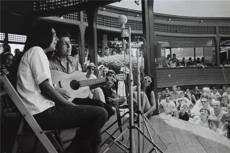 Dylan y Joan Baez