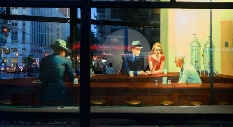 El silencio de Edward Hopper