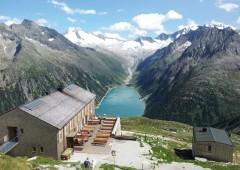 Refugios de montaña: sustitución. Olpererhütte