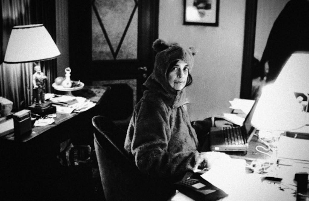 Susan Sontag por Anne Leibovitz