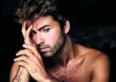 George Michael on the top