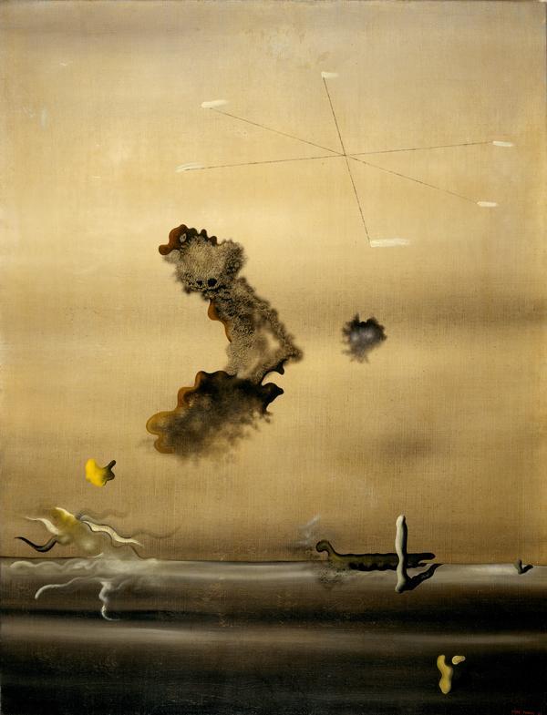 Pintura de Ives Tanguy.
